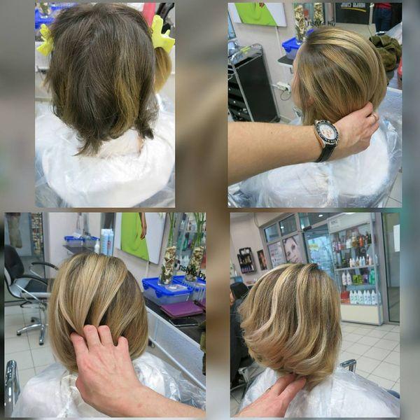 Осветление волос парикмахер