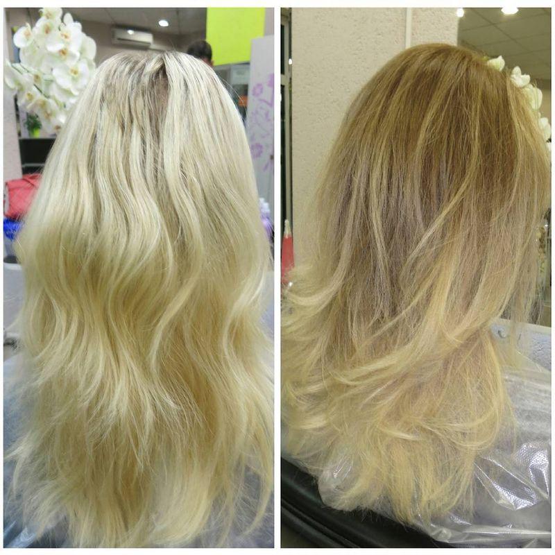 Чем отличается тонирование от окрашивания волос