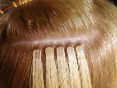Волосы насадить на ленты возможно? - Наращивание волос - Я 94