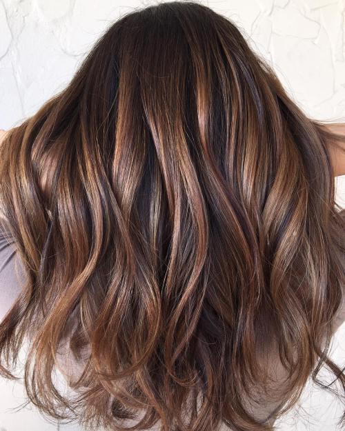 Лакричный цвет волос
