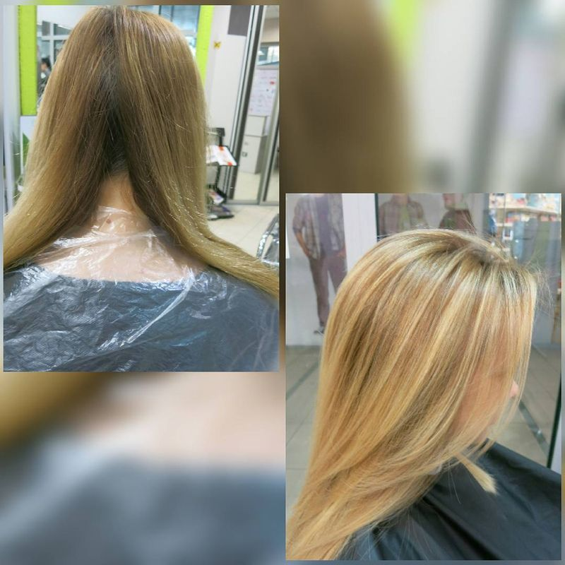Сколько стоит окраска волос в парикмахерской